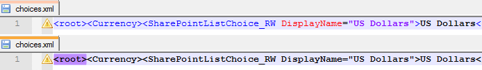 Choices.xml